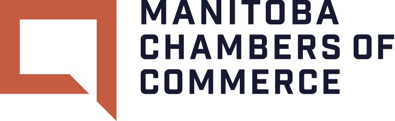 this is a logo for the Manitoba Chambers of Commerce